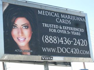 Doc 420 billboard